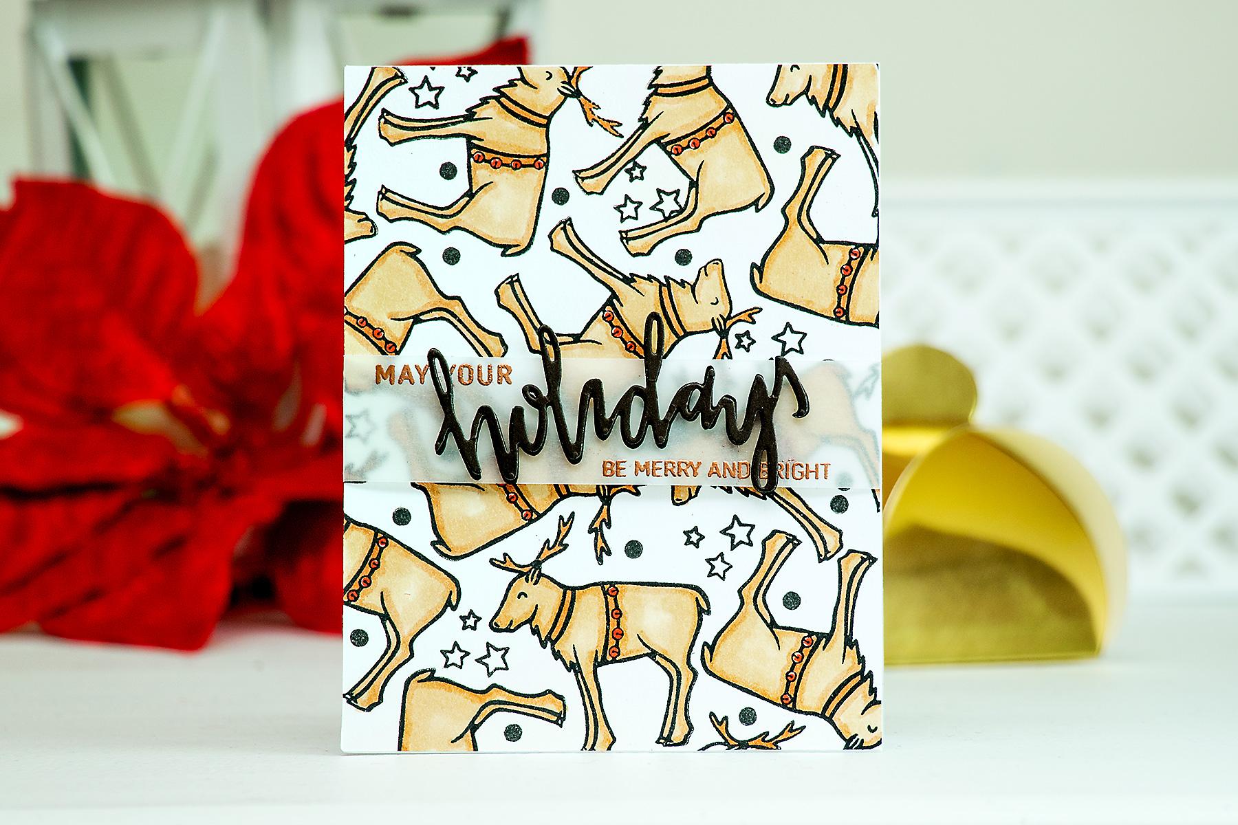 Yana Smakula   Neat & Tangled Release Week. Day 4 – Happy Holidays