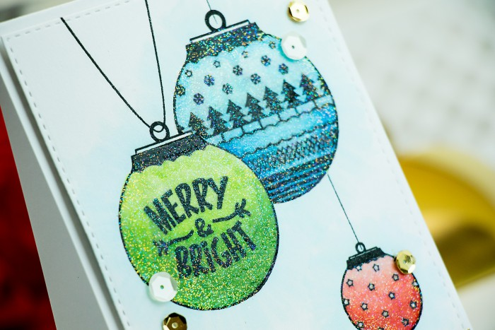 Yana Smakula | Neat & Tangled Release Week. Day 2 - Happy Ornaments