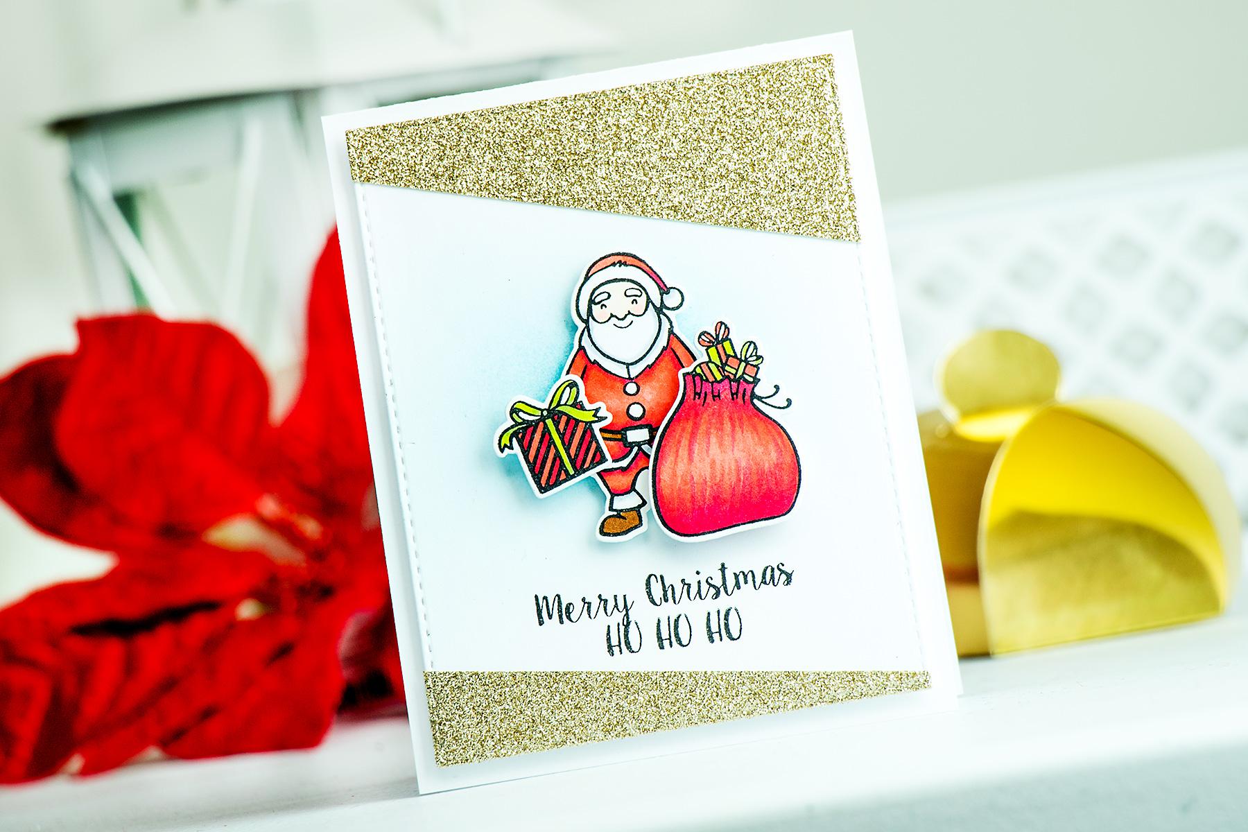 Yana Smakula   Neat & Tangled Release Week. Day 1 - Santa's Ride