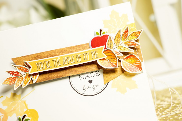 Simon Says Stamp November Card Kit. You're The Apple of my Pie. Video