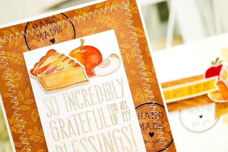Yana Smakula | Simon Says Stamp November Card Kit. So increadibly grateful. Video
