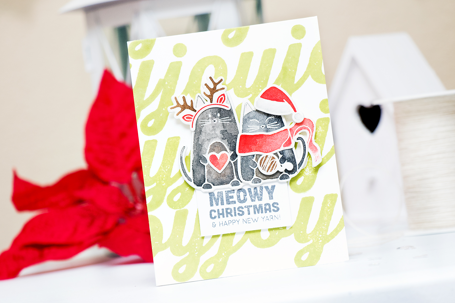 Yana Smakula | Simon Says Stamp Meowy Christmas