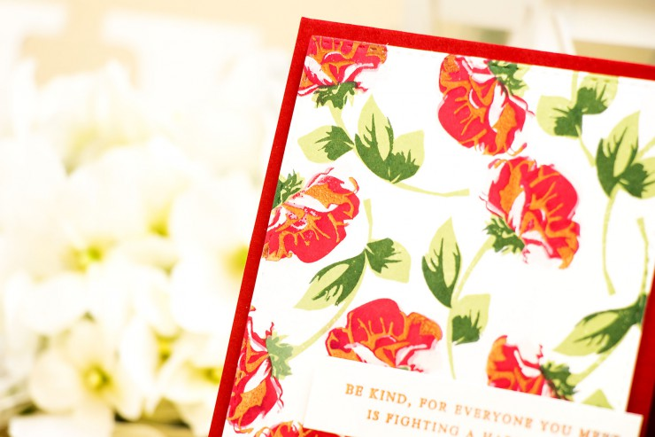 Yana Smakula | STAMPtember(R) Altenew exclusive – Be Kind.