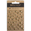 American Crafts GOLD Enamel Dots Stickers DIY Shop 3 370888