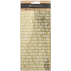 American Crafts GOLD FOIL PHRASE Stickers DIY Shop 3 370867
