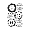 Hero Arts Clear Stamps COLOR LAYERING WREATH CL907
