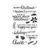 Hero Arts Clear Stamps HOLIDAY GREETINGS CL890