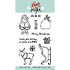Neat and Tangled SANTAS RIDE Clear Stamp Set