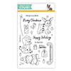 Simon Says Clear Stamps SIMON AND DEXTER CHRISTMAS sss101589 From All Of Us