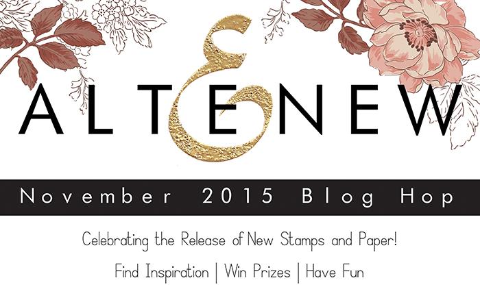 Altenew November Release Blog Hop + Giveaway