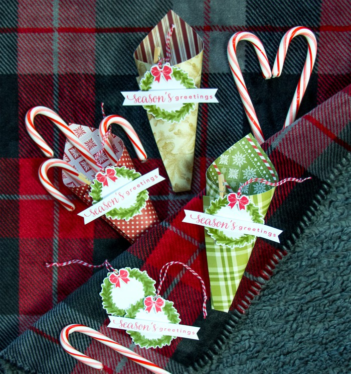 Hero Arts | Holiday Treat Cones