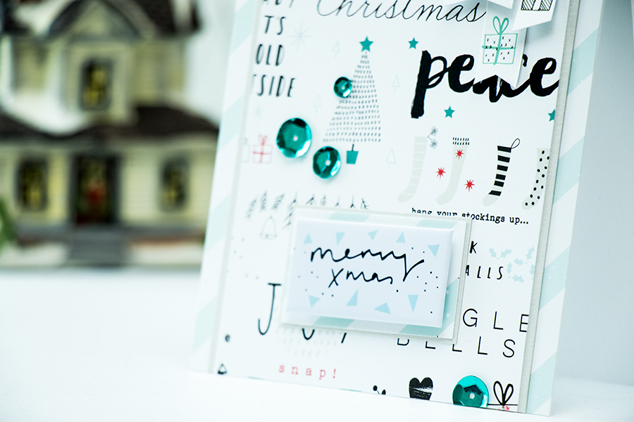 Simon Says Stamp | December Card Kit - Merry Xmas
