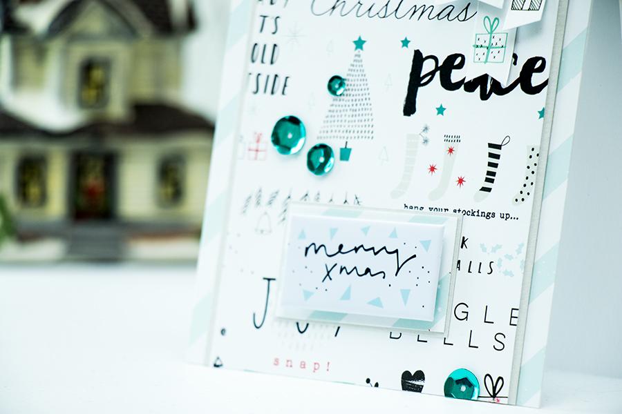 Simon Says Stamp | December Card Kit - Merry Xmas