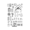 Hero Arts Clear Stamps 3D HOUSE ESSENTIALS CL885