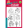 Hero Arts Clear Stamps COLOR LAYERING FALL TREES CL886