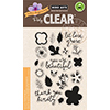 Hero Arts Clear Stamps COLOR LAYERING LET LOVE GROW CL865