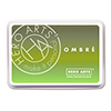 Hero Arts Ombre Lime to Forever Green Ink Pad