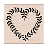 Hero Arts Rubber Stamps Heart Vine F6123