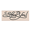 Hero Arts Rubber Stamps LOVE YOU MESSAGE G6122