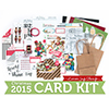 Limited Edition Simon Says Stamp Holiday Card Kit HOLLY JOLLY CHRISTMAS HJC15