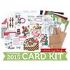 Limited Edition Simon Says Stamp Holiday Card Kit HOLLY JOLLY CHRISTMAS HJC15