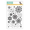 Simon Says Clear Stamps Cute Snowflakes