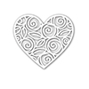 Simon Says Stamp HEART OF ROSES Wafer Die SSSD111542 DieCember