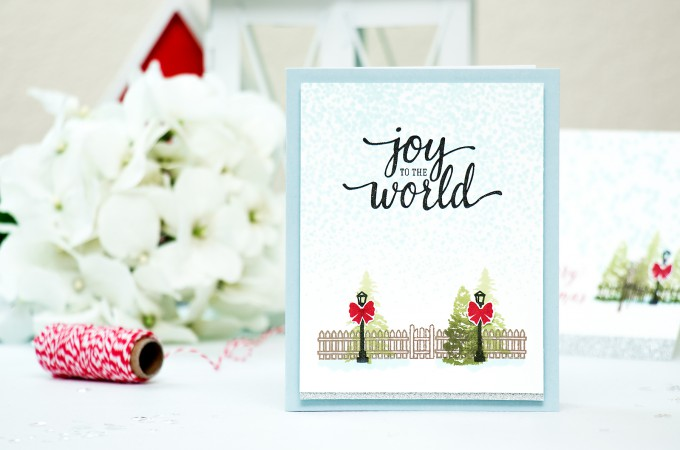 Hero Arts | Last Minute Holiday Cards - Stamping Scenes