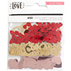 Crate Paper HELLO LOVE Sequins 680369