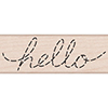 Hero Arts Rubber Stamp DOTTED HELLO C6137