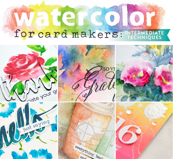 Online Card Classes | Watercolor Class Giveaway!