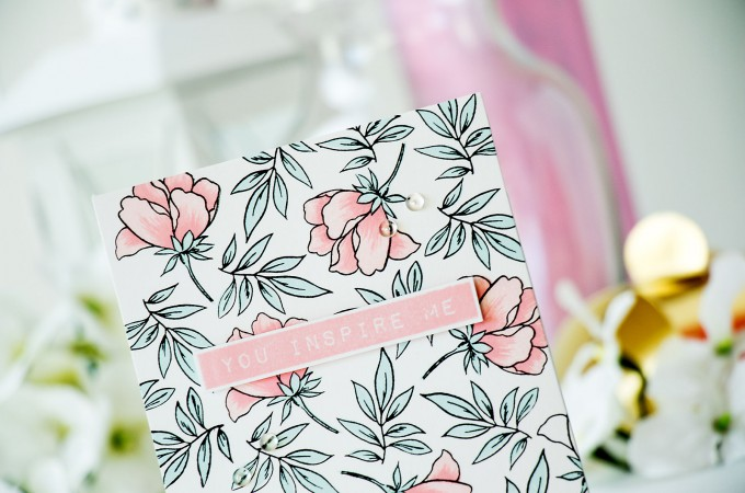 Altenew | Simple Stamped Cards with Altenew - You Inspire Me