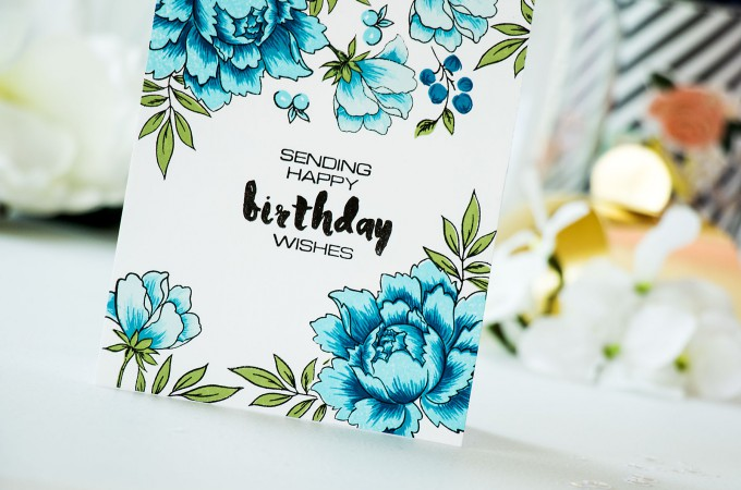 Altenew | Simple Stamped Cards with Altenew - Sending Happy Birthday Wishes