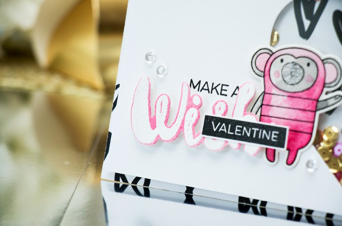 MFT Guest Designer | Make A Valentine Wish Card