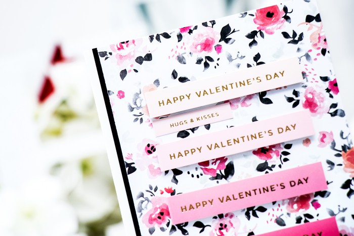 Simon Says Stamp | February 2015 Card Kit - Happy Valentine's Day