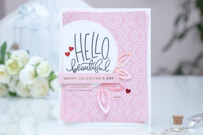 Simon Says Stamp | Hello Beautiful - February Card Kit. Video