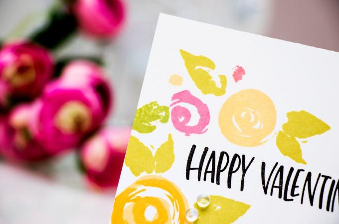 Simon Says Stamp | Floral Happy Valentine's Day