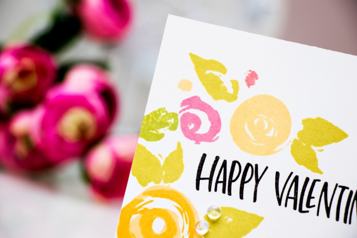Simon Says Stamp | Floral Happy Valentine's Day
