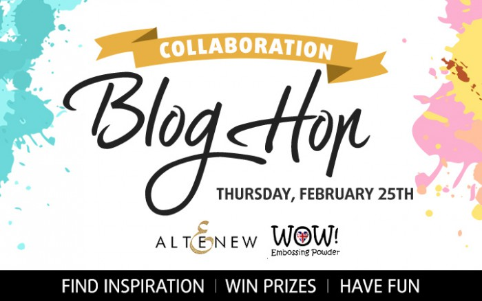 Altenew & WOW! Collaboration Blog Hop
