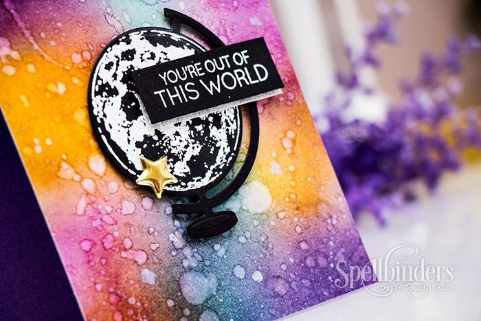 Spellbinders | Using other planet image on a globe. Video