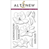 Altenew Magnolias For Her Stamp Set AN101