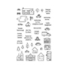 Hero Arts Clear Stamps TOWN ESSENTIALS CL951