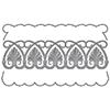 Spellbinders Art Deco Shells Duality Dies