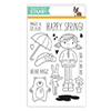 Simon Says Clear Stamps ABBY'S SPRING SHOWERS sss101489 Hop To It