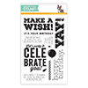 Simon Says Clear Stamps BIG BIRTHDAY WISHES sss101521