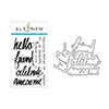 Altenew Super Script Stamp & Die Bundle