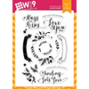 Wplus9 Valentine Wishes Clear Stamps