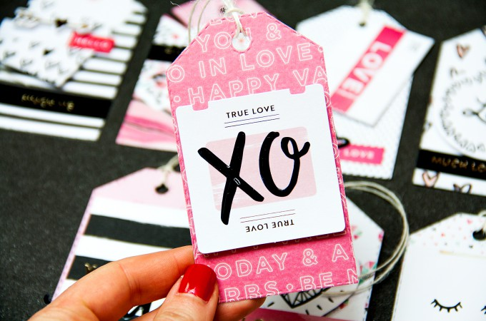 Як зробити теги до Дня Валентина. Відео майстер клас