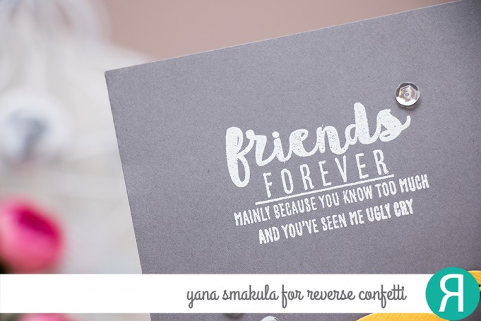 Reverse Confetti | Friends Forever - Unique Friendship Sentiments