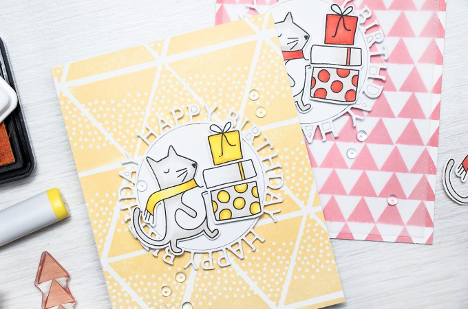 Simon Says Stamp | Stretching Holiday Stamps for everyday cards. Video